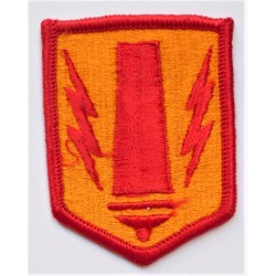 US Army 41st Field Artillery Brigade Cloth Patch Badge