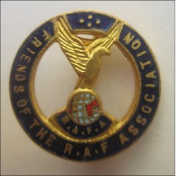 Friends of the Royal Air force Association Brooch