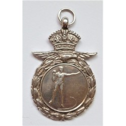 Royal Air Force Silver 1940 Sporting Medal Shot Put