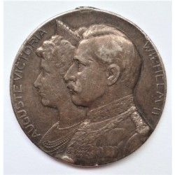 Silver wedding Wilhelm II and Auguste Victoria Medal