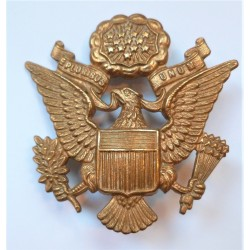 WW2 US Army Officers Cap/Hat Badge Insignia