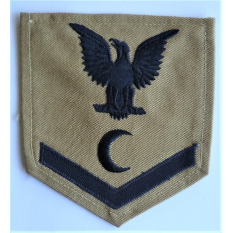 WWII US Navy Steward Third Class Rating Badge insignia