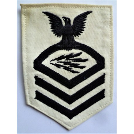WWII US Navy Chief Radioman Rating Badge insignia
