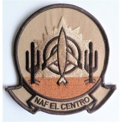 US Naval Air Facility NAF El Centro Cloth Patch Badge USN