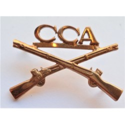 United States Army CCA Infantry Regiment Officers Collar Insignia Device US
