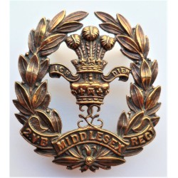 2nd Volunteer Battalion Middlesex Regiment Cross Belt Plate