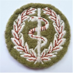 Medical Assistant Proficiency sleeve badge Small Arms School