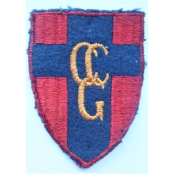 Control Commission Germany Cloth Formation Sign CCG