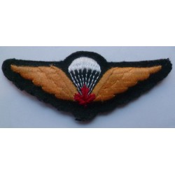 Canadian Paratrooper Cloth Wing / Badge Circa 1960
