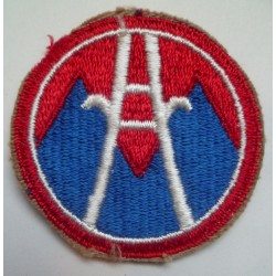 WW2 United States 2nd Army Logistical Command Cloth Patch.