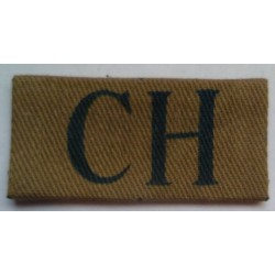Cheshire Home Guard Cloth Sleeve Badge Insignia.