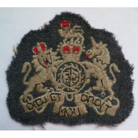 Royal Air Force Warrant Officer Sleeve Badge queens Crown.