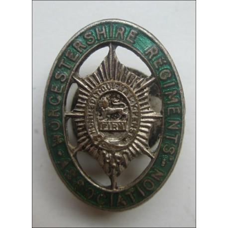 The Worcestershire Regiment Association Lapel Badge