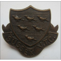 Sussex VTC, Volunteer Training Corps Cap Badge