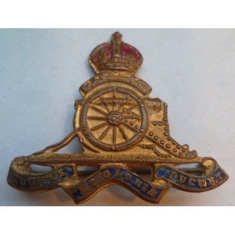 Royal Artillery Sweetheart Brooch WW2