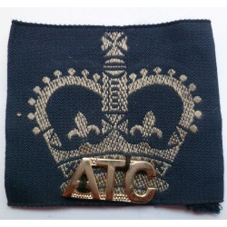Air Training Corps ATC Slip On Cloth Shoulder Title