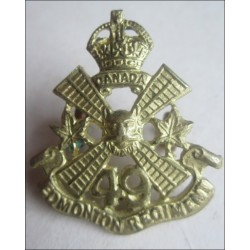 Canadian 49th Edmonton Regiment Collar Badge