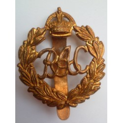 Royal Armoured Corps RAC Cap Badge