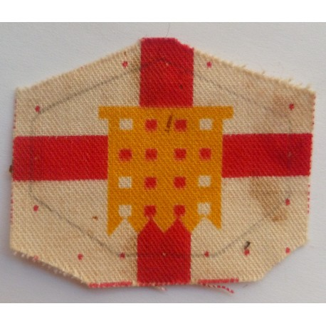 Home Counties Brigade Cloth Formation Sign British Army