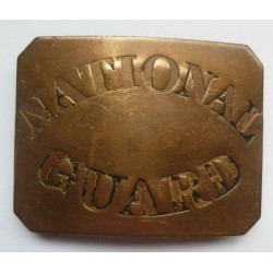US National Guard Belt Plate United States of America