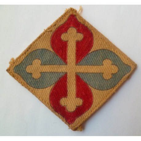 The Wessex Brigade Printed Formation Sign WW2