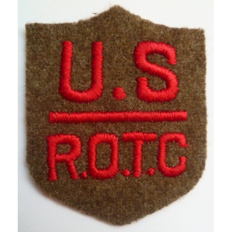 WW2/WW1 United States ROTC Branch insignia Field And Coast Artillery Cloth Patch Badge