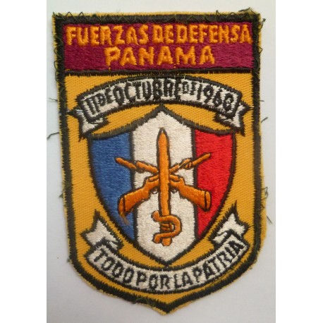 Defense Force Panama Cloth Patch Insignia
