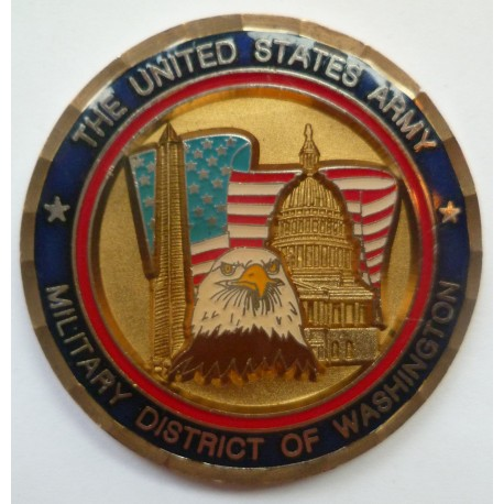 United States Challenge Coin Military District of Washington