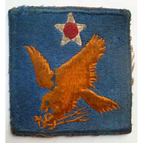 2nd United States Army Air Force Cloth Patch Badge WW2 USAAF