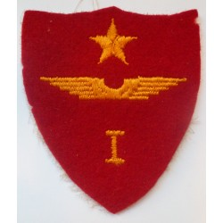 WW2 United Sates Marine Corps Aircraft Fuselage 1st Wing Cloth Felt Patch Badge