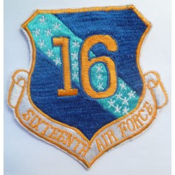 USAF Sixteenth Air Force Cloth Patch Badge 16th United States Air Force