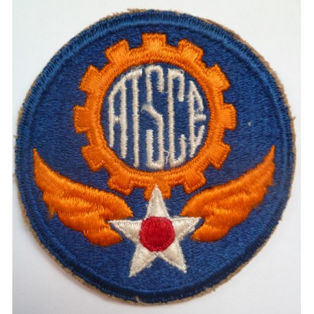 WWII USAAF Air Technical Service Command Europe Cloth Patch Badge United States Army Air Force