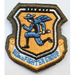 USAF 103rd Fighter Group Cloth Patch Badge United States Air Force