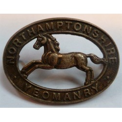 Northamptonshire Yeomanry Cap Badge British Army