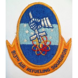 USAF 913th Air Refueling Squadron Cloth Patch United States Air Force badge