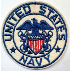 Scarce WWII United States Navy Cloth Patch Badge USN Insignia WW2