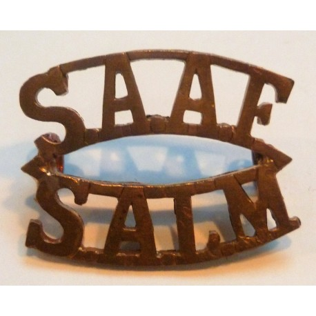 WWII South African Air Force Shoulder Title