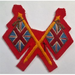 Briitsh Army Colour Sergeant Sleeve Badge Insignia