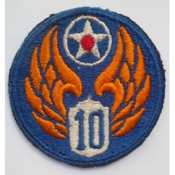 United States 10th Air Force Cloth Patch Badge US