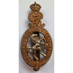 Army Remount Service Cap Badge British Army WW1