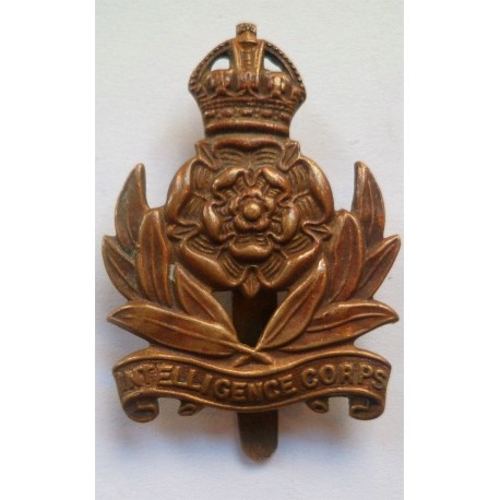 The intelligence corps Cap Badge